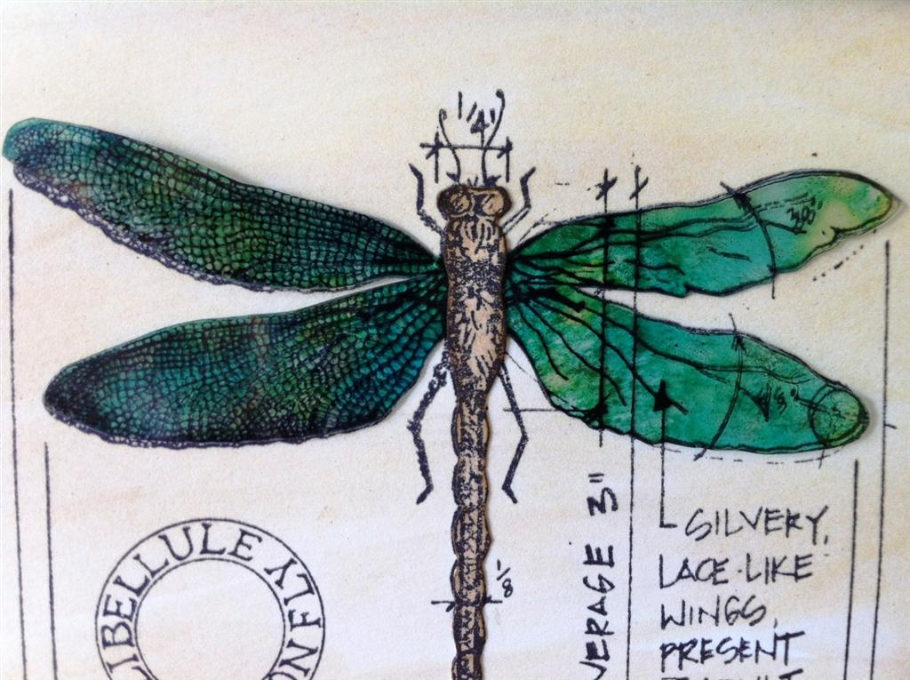 Tim Holtz Dragonfly